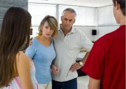 Como lidar com os meus pais?